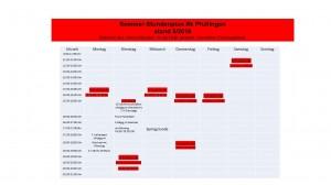 Sommer-Stundenplan Rk Pfullingen 20108
