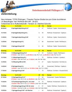 Zeiteinteilung 2018 (2)